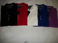 NEW WITH TAGS TOMMY HILFIGER WOMENS 3/4 SLEEVE POLO SHIRTS(SIZES) S / M / L / XL