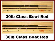 New Rovex Integra Gold 8ft Boat Fishing Rod (3 Section) 20lb or 30lb Solid Tip