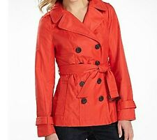 ladies Women's Winter fall spring rain light trench coat jacket plus size 3X new