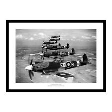 Supermarine Spitfire Squadron -  Historic 1939 Aviation Photo Memorabilia (034)