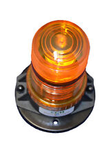 "B6L4PT 9-80VDC 1/2"" NPT LED BEACON FORKLIFT EMERGENCY WARNING LIGHT PIPE MOUNT"