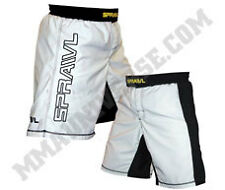 Sprawl V-Flex XT Competition Edition Shorts - White - [MMA UFC BJJ Fight Shorts]