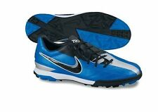 Nike Total 90 Shoot IV TF Turf 2011 Soccer Shoes Brand New Blue - Black  Silver