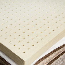 100% Natural Latex Topper - All-Natural Support System- 2 inches - King Size