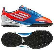 adidas F 10 TRX TF TURF  2012 Soccer Shoes Blue/White/Red Brand New  KIDS- YOUTH