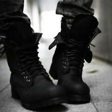 Men's Retro Combat boots Winter England-style fashionable short shoes 2 Colors