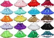 TEEN SIZE Pettiskirt skirt solid colors tutu dress girl clothing for party 8-10y