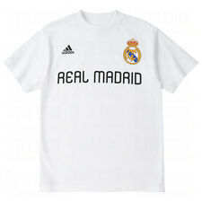 adidas Real Madrid 2011 - 2012 Signature Soccer Fan Tee Shirt Brand New White