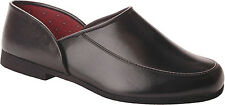 Slippers International Mens 9260 Closed Back Opera Slippers [ Black ]