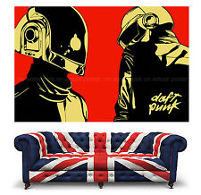 Daft Punk Wall Art Large Giant Poster Pop House DJ Music A2 A1 Print Picture 012