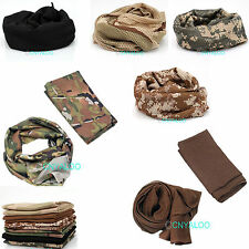 Outdoors Camouflage Pattern Military Army Tactical Keffiyeh Arab Wrap Scarf