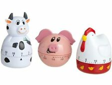 Design Imports Farm Animal 60 Minute Kitchen Timer - Cow Piggy or Chicken