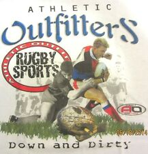 NEW! Mens Athletic RUGBY SPORTS Down and Dirty T-Shirt - SIZE M - 3X