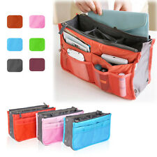 New Removable Handbag Insert Organiser Large Purse Liner Organizer Bag Quality!