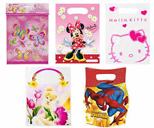 Kids Character Birthday Party Bag Loot Treats Gifts Goody Bags