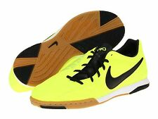 Nike Total 90 Shoot IV IC Indoor 2012 Soccer Shoes Volt -Black Kids Youth Jr