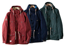 Addict Mens Mountain Range Front Pockets Highly Water Resistant Jacket