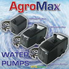 SUBMERSIBLE WATER PUMP Hydroponics Aquarium Fountain Pond Fish Tank Fresh Salt