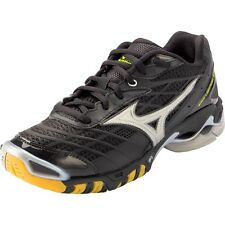 Mizuno Wave Lightning RX Men's Volleyball Shoes NIB Black/Silver Various Sizes
