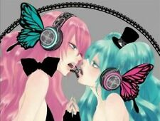Vocaloid Miku Cosplay Prop headphone butterfly Ruka earphone cosaccessory JP30
