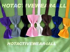 Mens Satin Classic Tuxedo Polyester Bow Tie Formal Neck wear Adjustable Bow Tie
