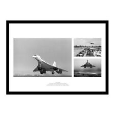 Concorde First & Last Flights Montage Aviation Photo Memorabilia (COMU1)