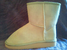 Sherpa girls ankle boots choose your color and size - faux suede & sheep lined