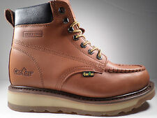 Cactus Work Boots 627M Brown Real Leather Upper New In Box Men's Size's