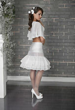Wedding Bridal Petticoat Underskirt Crinoline Dress S M L XL XXL R15 -140