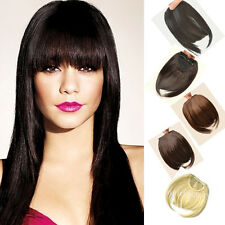 Clip in on hair extensions bangs fringe 1pcs hot women special short bangs