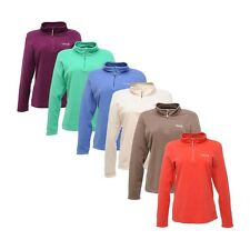 Regatta Ladies Fleece Half-Zip Microfleece Ideal For Adventure Free Post Swthart