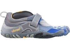 Vibram Five Fingers Bikila LS M349 New Men Grey Royal Blue Fitness Running Shoes