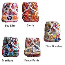 Cute Waterproof Cover for use with cloth diapers, fitted or prefolds One size
