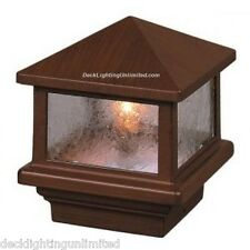 Aurora Sirius Deck POST LIGHT, 12V low voltage, 18W, choice of post size & color