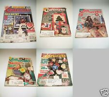 Choice / One / Five Back Issues Craftworks Magazine 1993 1994 1995 1996