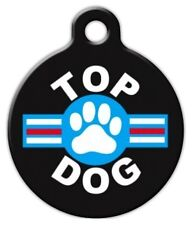 TOP DOG - Custom Personalized Pet ID Tag for Dog and Cat Collars