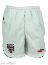 Official Umbro Mens England Football Away Sports Shorts White L XL XXL 2008-10