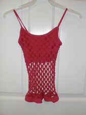 Stretch Net Tank Top by See You Monday - Choose from Several Colors - NWT