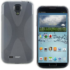 X-Line TPU Case (Multi-Colors To Choose From) for SamSung Galaxy S 4 Clear black