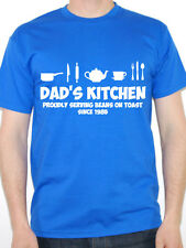 DAD'S KITCHEN - Cooking / Father / Daddy / Novelty / Fun Themed Mens T-Shirt