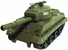 RC Radio Remote Control Tank with Automatic BB Firing Airsoft Gun 1:30 scale