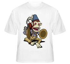 White MONKEY BOMB JOLLY CHIMP T-Shirt CALL OF DUTY ZOMBIES 100%COTTON *NEW ITEM*