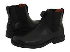 Timberland Mens 88580 Mt Washington City Chelsea Leather Boots [ Black ]
