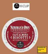 Keurig Newman's Own Cafe Almond Biscotti k-cups