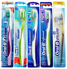 Oral-B Exceed,CrossAction,CrossAction Vitalizer or Advantage Artica Toothbrushes