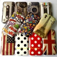 1 Pcs Various Classic pattern back hard Case cover For Samsung Galaxy Ace S5830