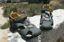Kids TEVA DOZER Grey Yellow Water Hiking Beach Walking Travel River Sandals