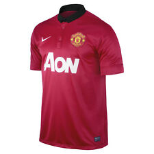 Nike Manchester United Season 2013-2014 Home Soccer Jersey Brand New Red