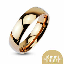 Rose Gold Personalized Ring Stainless Steel Ring engraved inside or outside