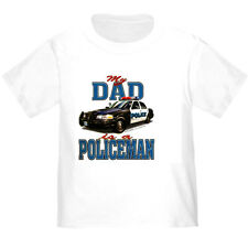 YOUTH KIDS T-SHIRT My DAD is a POLICEMAN (k-537)